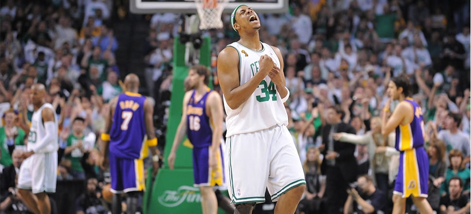 Retiring 34: Paul Pierce's Top 5 Moments in Green