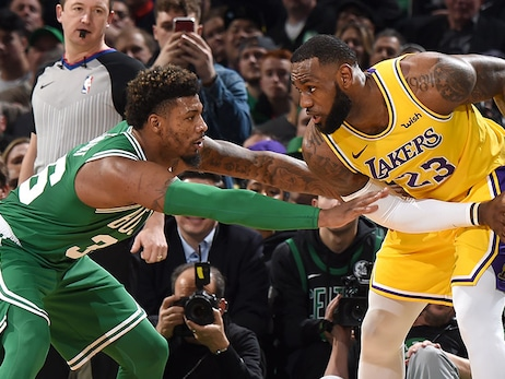 C's Look to End Three-Game Skid vs. New-Look Lakers