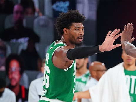 Smart Says C's are 'As Close as Ever' After Emotional Game 3 Response
