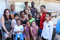 Bass Hosts Youth at Franklin Park Zoo