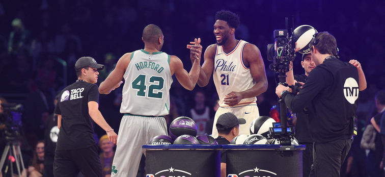 Image result for embiid and horford