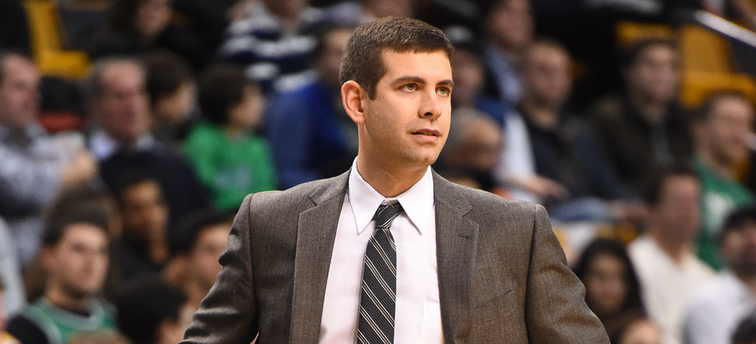 Brad Stevens standing on the sideline