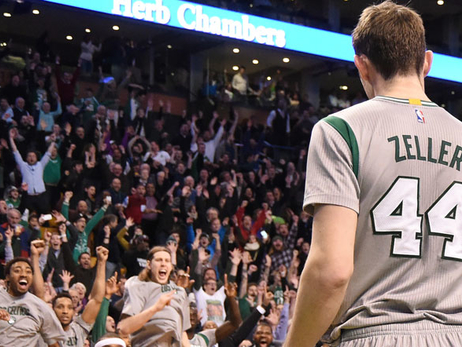 Tyler Zeller after his game winner