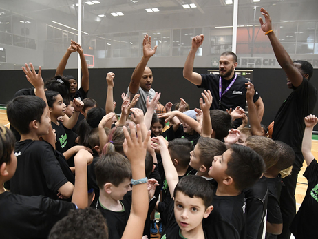 Photos: Nov. 24, 2018 | Basketball Clinics – Auerbach Center