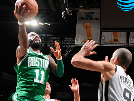 Celtics Fall to Spurs, But Irving Continues to Rise