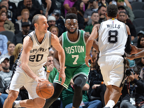 Pregame Post-Ups: C's Look to Disrupt Spurs' Balanced Attack