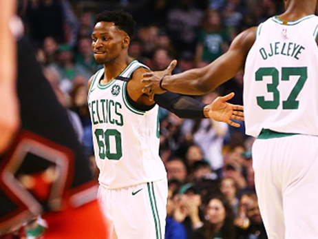 Gibson Earns Love from Celtics Nation in Remarkable Debut Effort