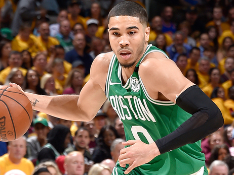 Jayson Tatum Named to All-Rookie First Team