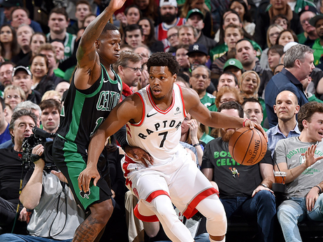 Raptors Aim to End Short Skid in Boston Friday Night