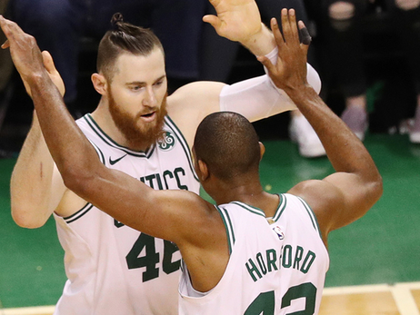 Pregame Post-Ups:  C's Plan to Pair Baynes & Horford More Consistently