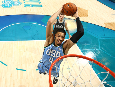 Tatum Soars Even Farther in 2nd Rising Stars Challenge