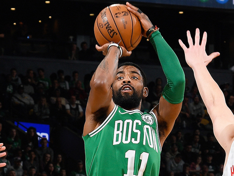 Irving Flirts with Another Triple-Double as C's Soar Past Hawks
