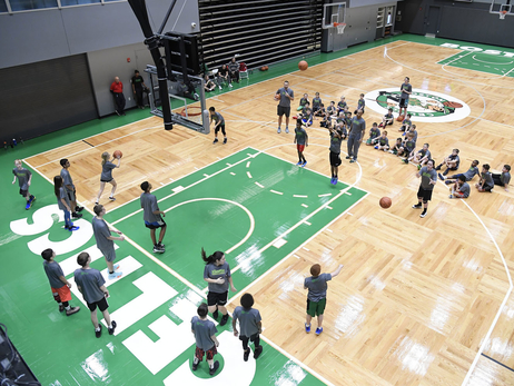 Photos: December 28, 2018 | Jr. Celtics Clinic - Auerbach Center