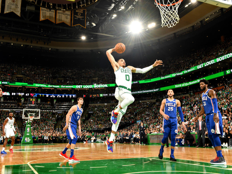 Photos: Celtics vs. 76ers - Oct. 16, 2018