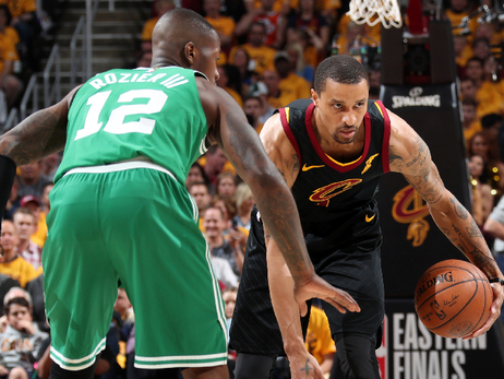 Terry Rozier defends George Hill