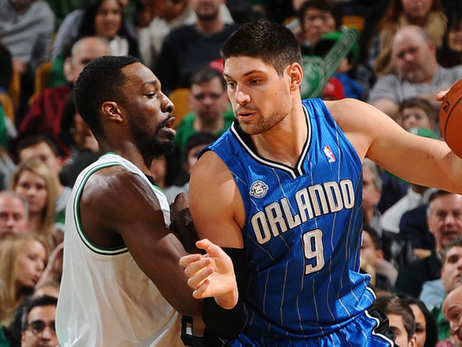 Jeff Green, Nikola Vucevic