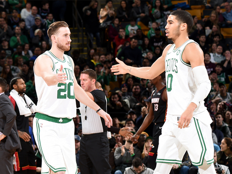 Stevens Says Brown, Hayward, Tatum Are Putting in the Work