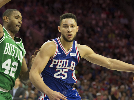 From One Freak Athlete to Another, C's Begin Prep for Simmons