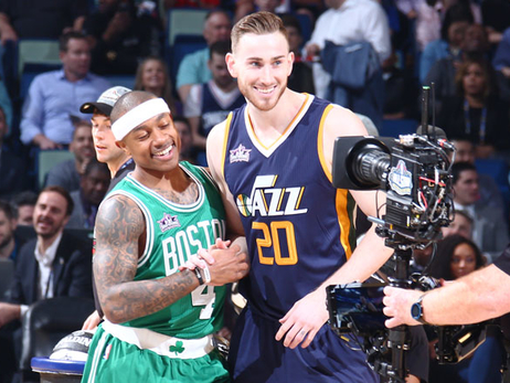 Isaiah Thomas, Gordon Hayward