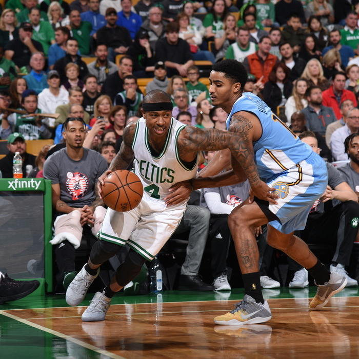 Photos: Nuggets Vs. Celtics - Nov. 6, 2016