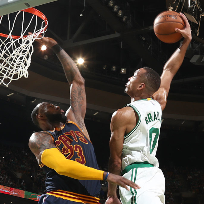 Cavaliers thump Celtics to open Eastern Conference finals