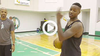 Terry Rozier giving a pro tip