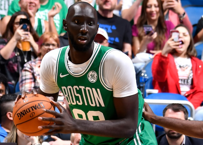 Fall's Wish Comes True, as He Rejoins Celtics for Game in Orlando