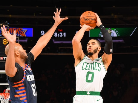 Boston's Young Dynamic Duo Dominates Knicks in New York