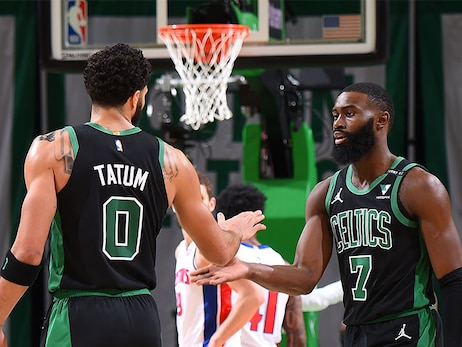 Brown, Tatum Look Forward to Sharing All-Star Experience