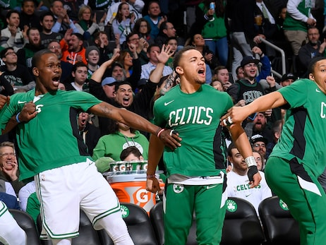 C's Dripping with Positivity Following Inspirational Team Win in Orlando