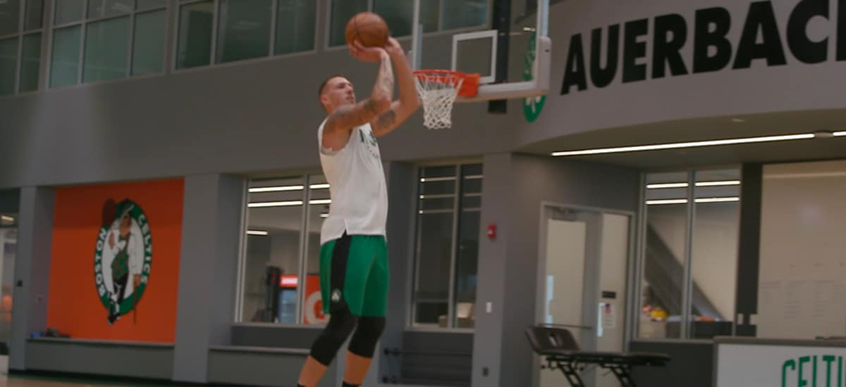 Theis Nearing Return from Injury Added New Skill During Rehab