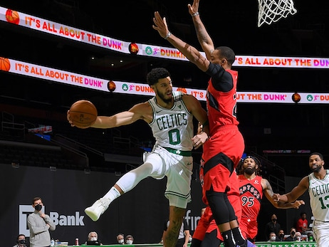 Brown, Tatum Display Passing Prowess in Win Over Toronto