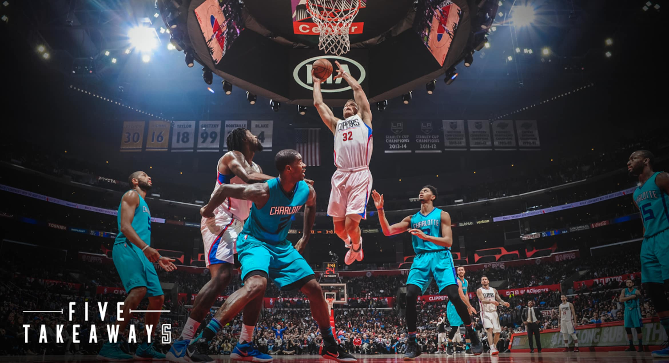 Five Takeaways: Griffin, Clippers Finish Off Hornets In OT