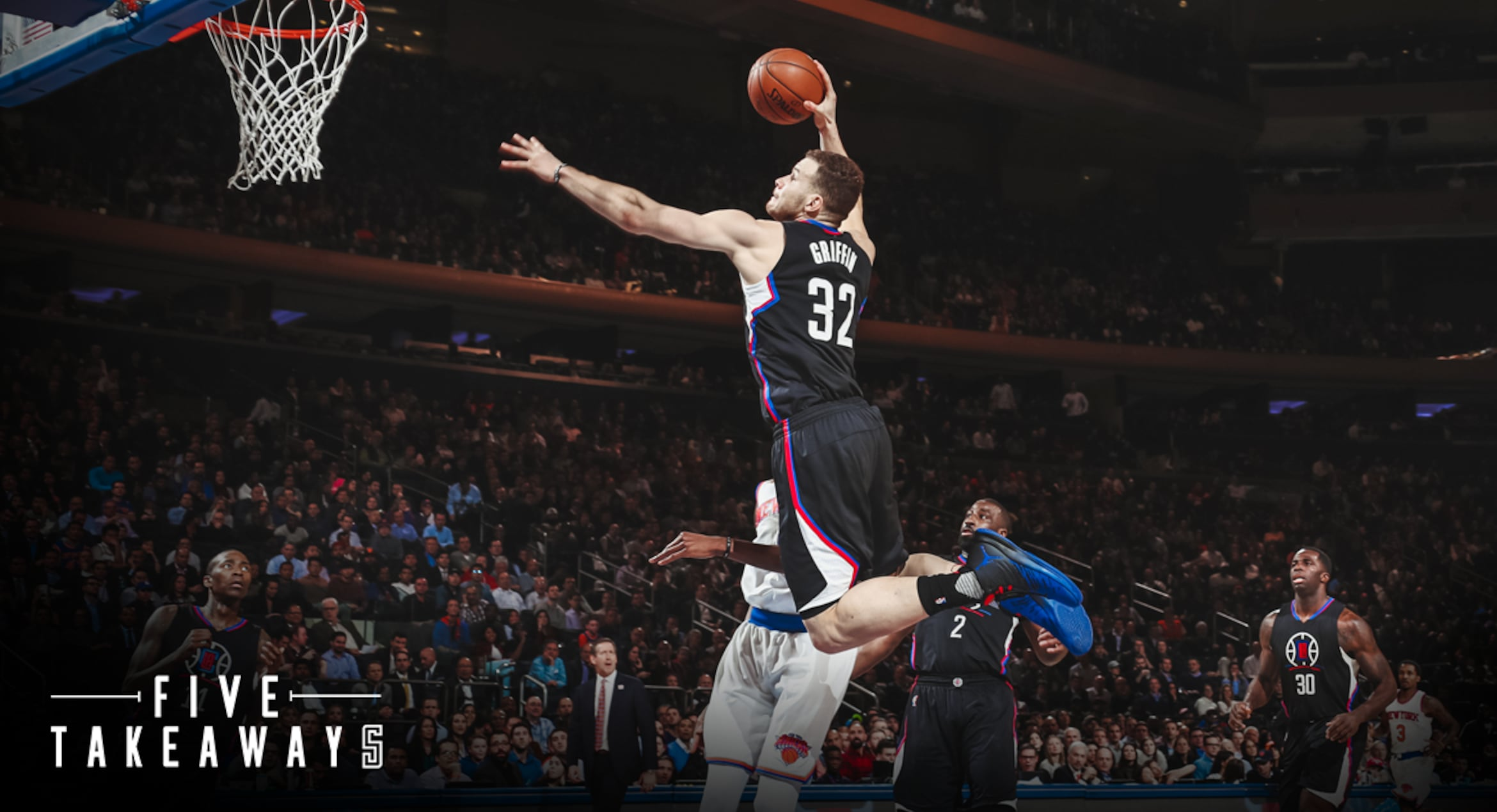 Five Takeaways: Clippers Come From Behind To Edge Knicks