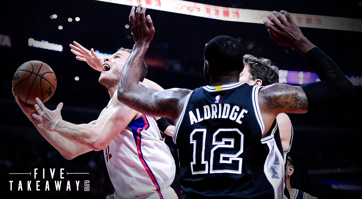 Five Takeaways: Clippers Lose To Spurs For First Time This Season