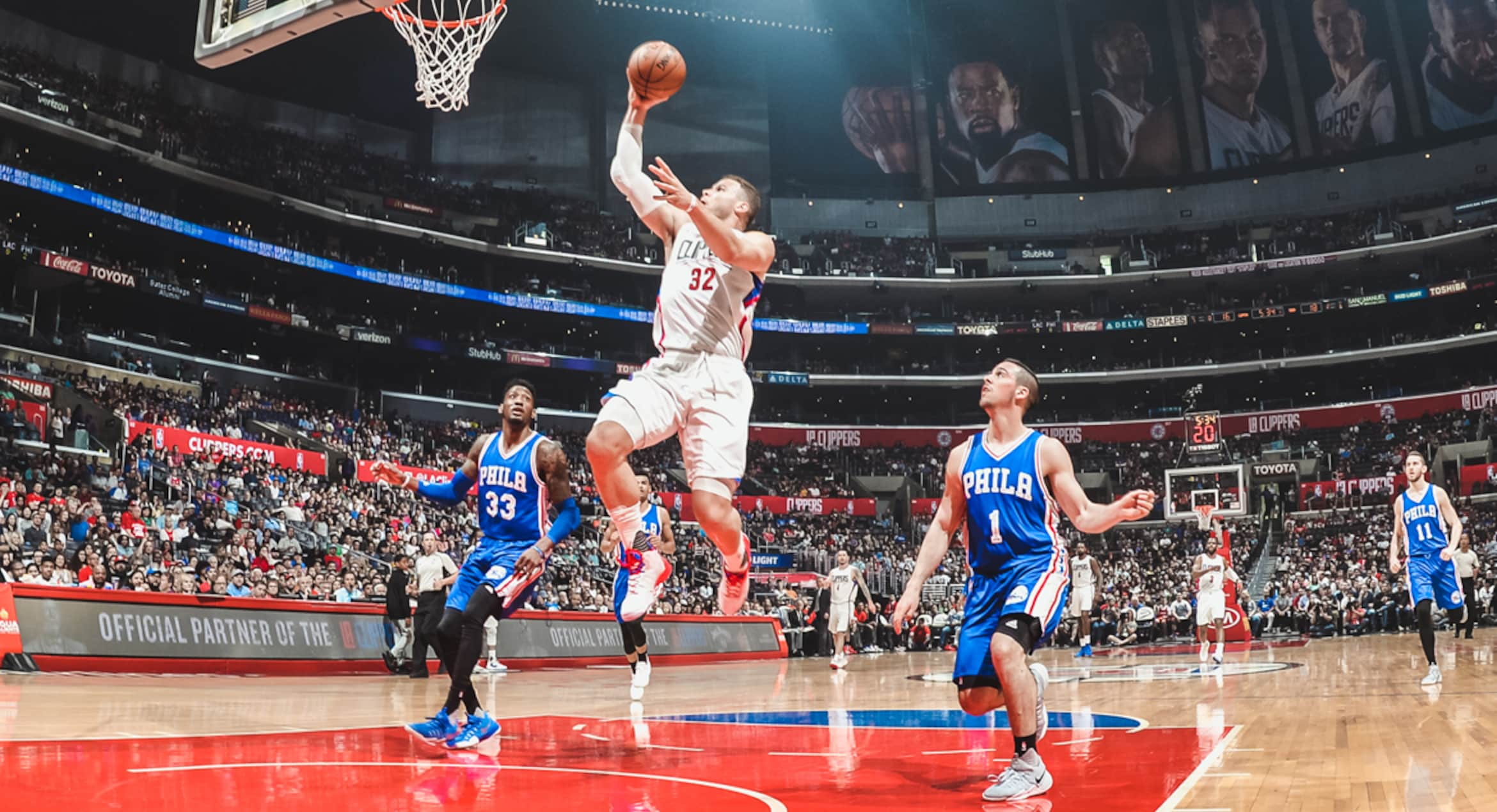 The Clippers Bench Leads Them Past 76ers