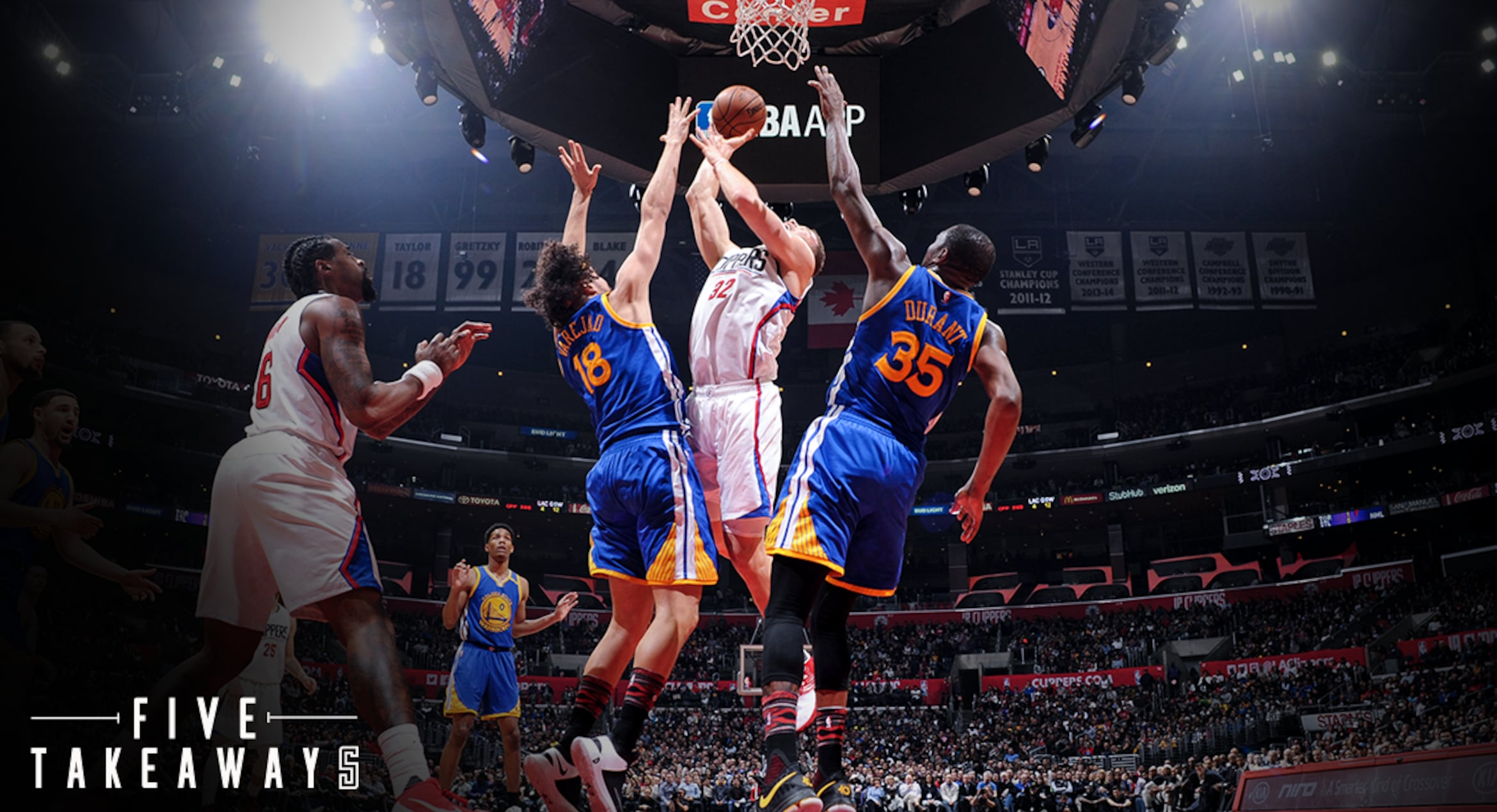 Five Takeaways: Late Run Not Enough As Clippers Fall To Warriors