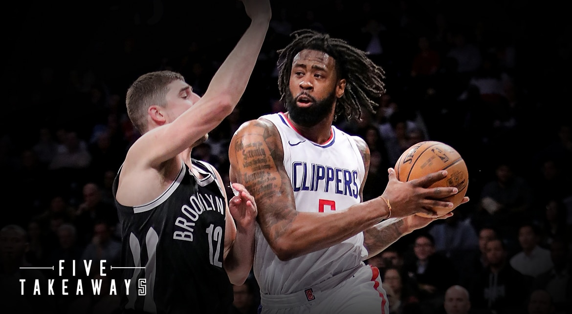Five Takeaways: Clippers use Team Effort to Beat Nets