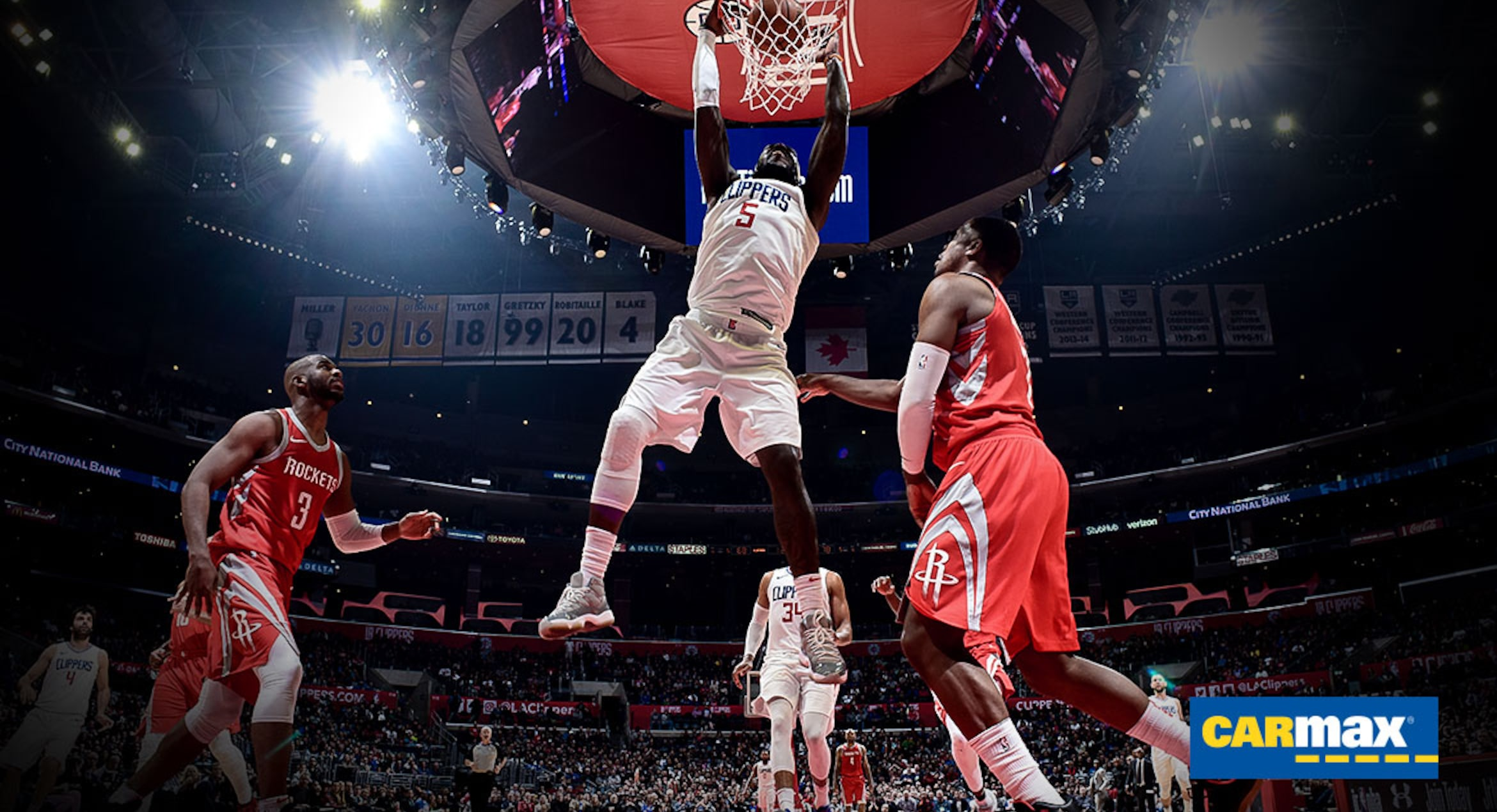 Gameday Report: Clippers vs. Rockets