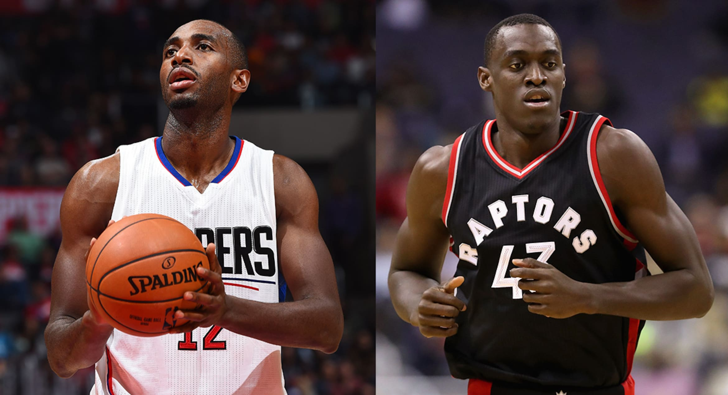 Luc Mbah a Moute and Pascal Siakam