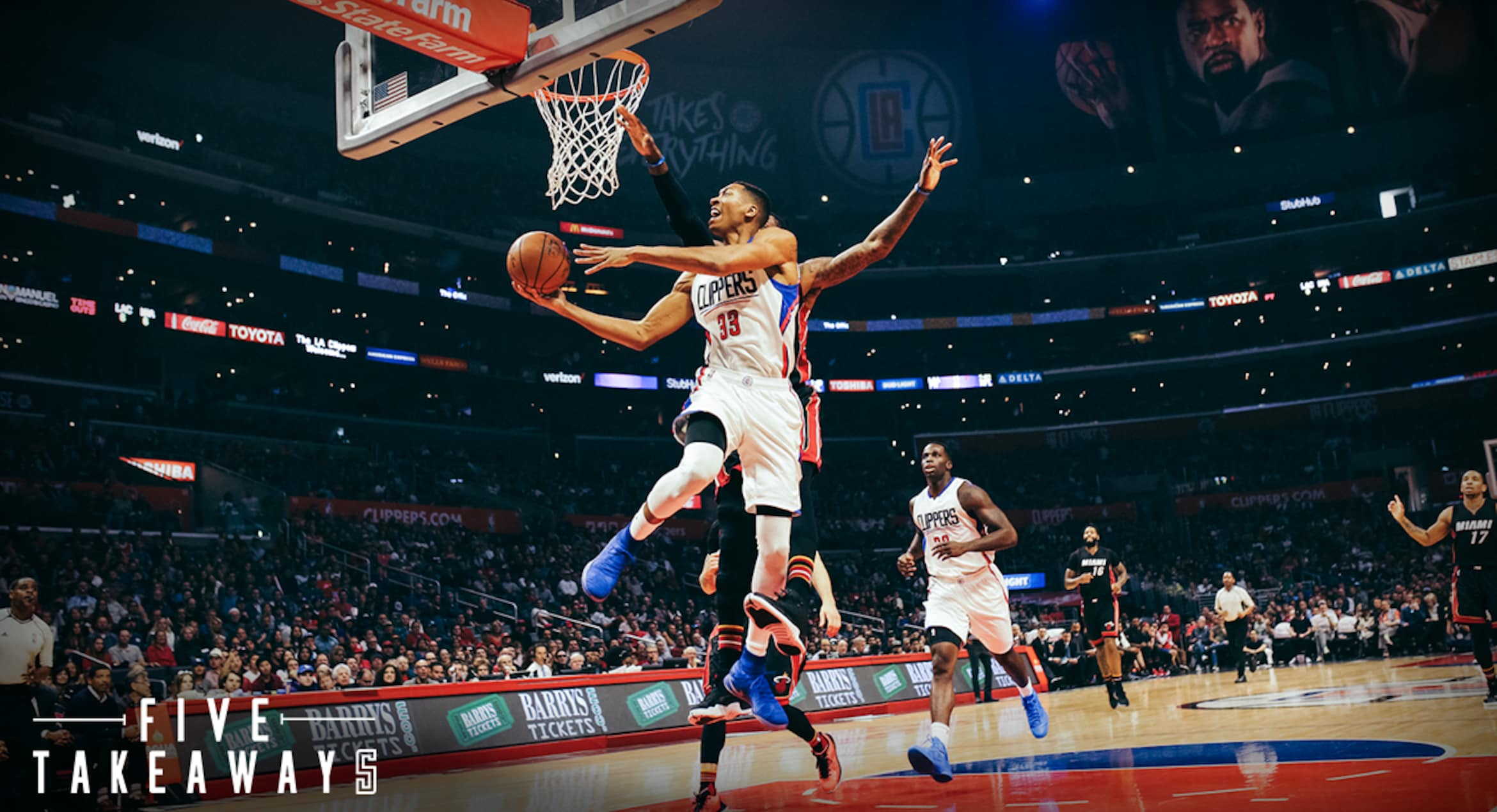 Five Takeaways: Clippers Win Fourth Straight, Beating Heat At Home