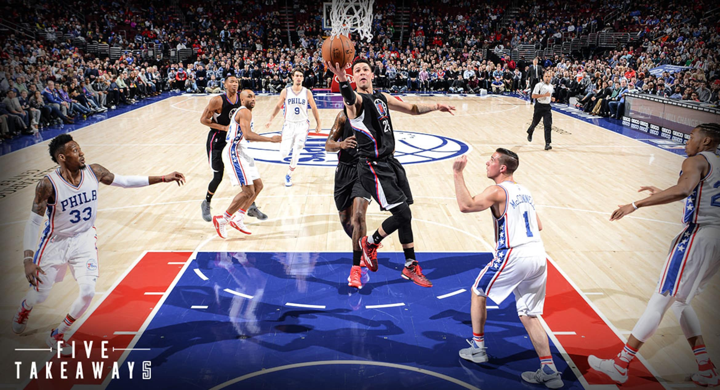 Five Takeaways: Second Half Falls Apart As Clippers Fall To 76ers
