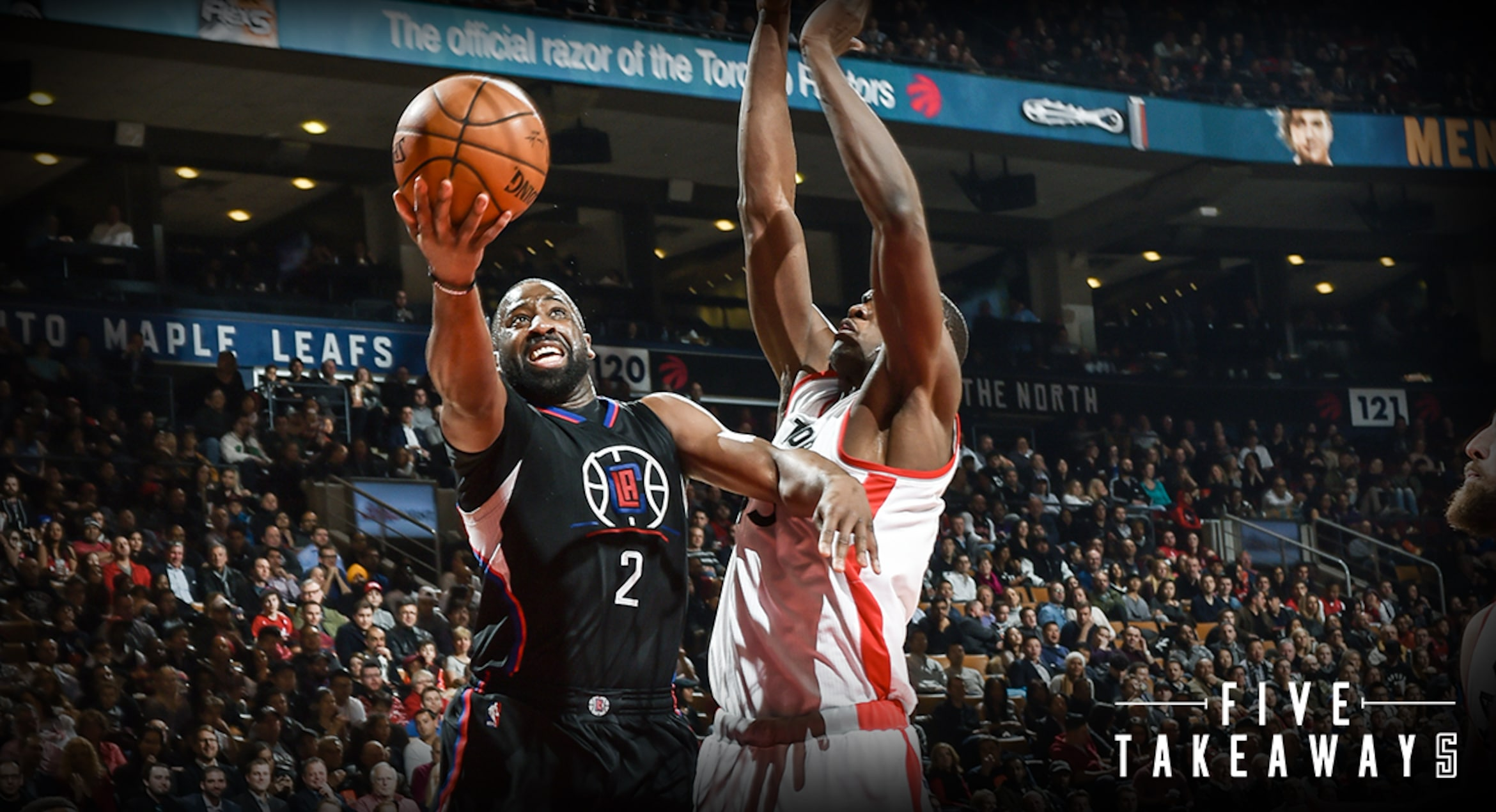 Five Takeaways: Clippers vs Raptors
