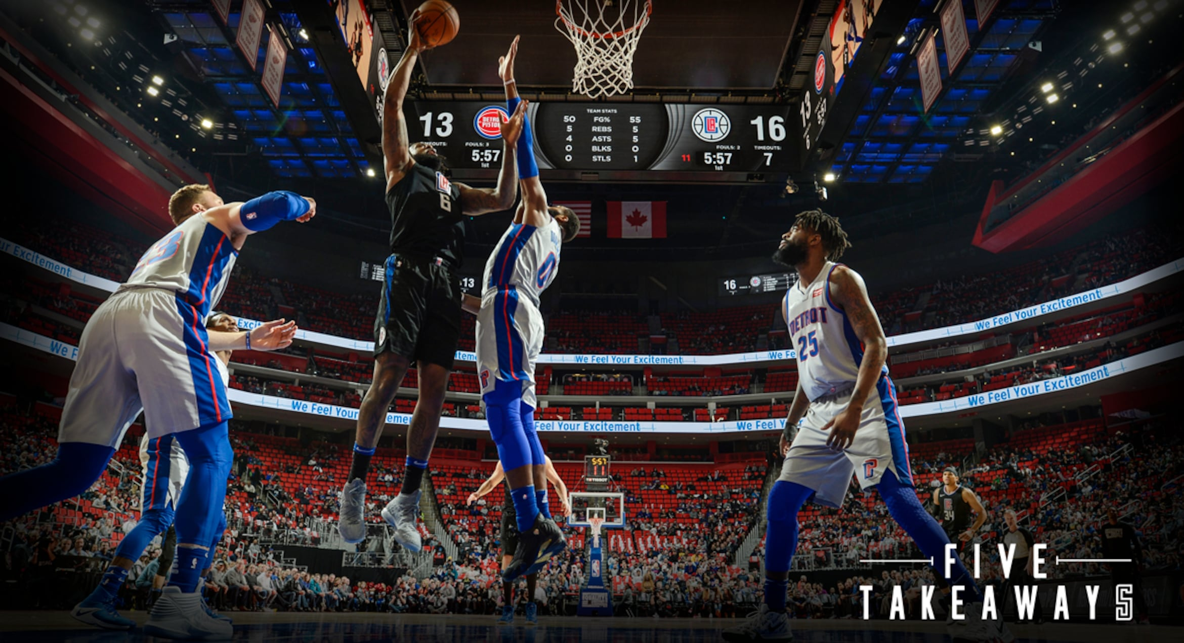 Five Takeaways: Clippers Surge Past Pistons in Detroit