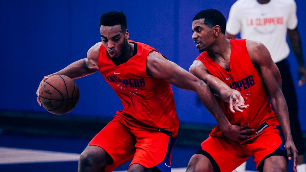 Brown Melton and Smith Headline Clippers' Workout