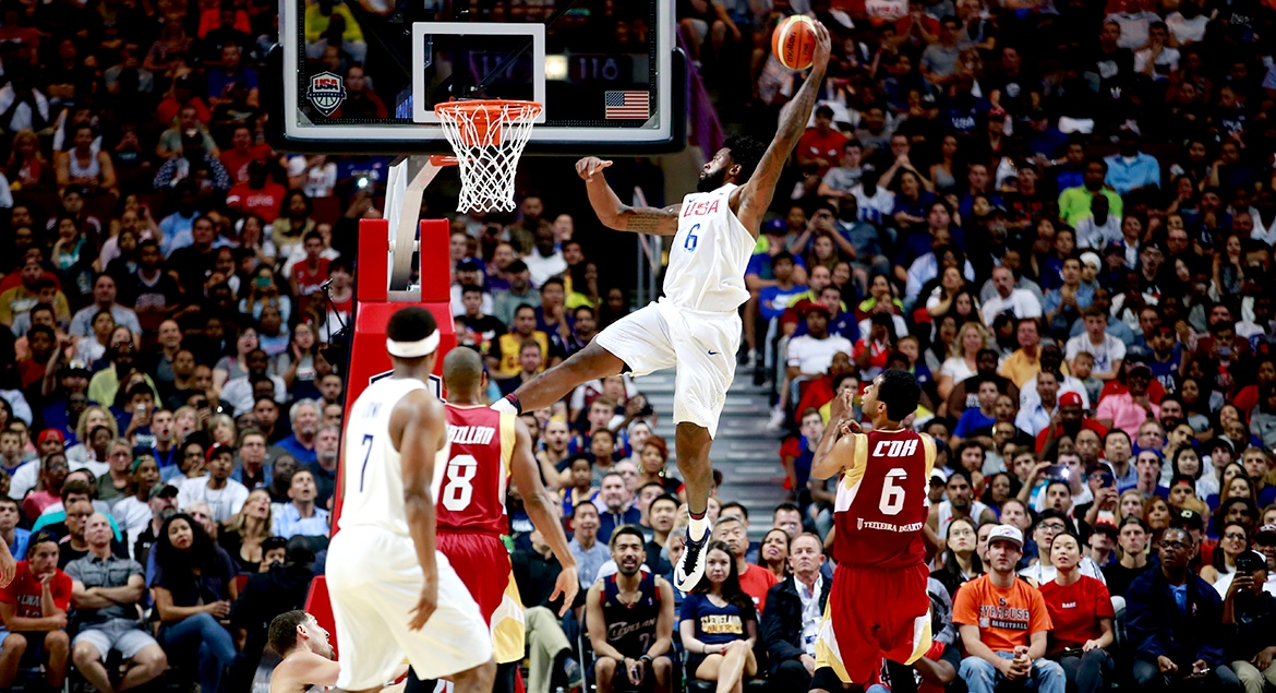Jordan Helps Lead Another Strong Defensive Effort For Team USA