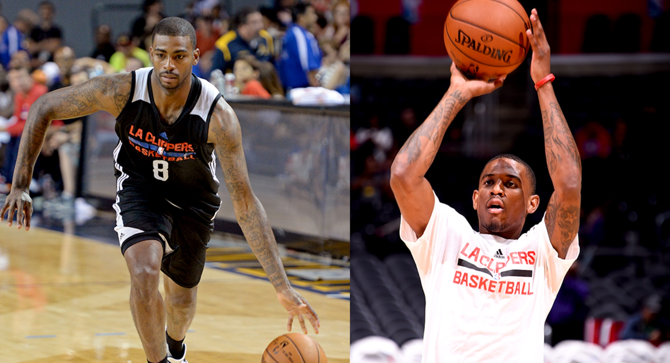 Image of Dorell Wright and Xaiver Munford