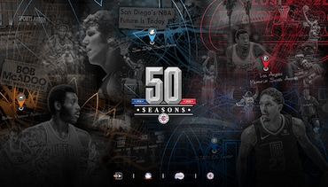 Clippers to Celebrate 50th Season with Themed Celebrations and Giveaways