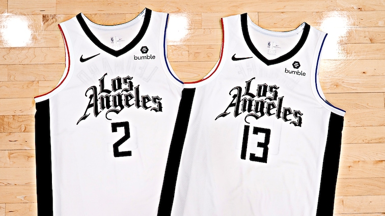L.A. Clippers Unveil New Nike City Edition Jersey and Court