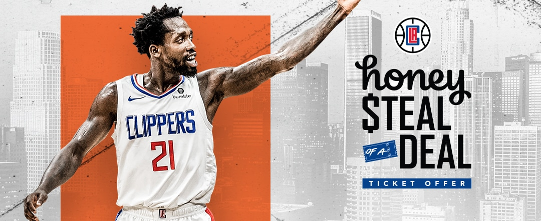 Patrick Beverley and Honey Partner to Bring Clippers Fans $10 Tickets for Every Home Game this Season
